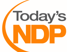 Today's NDP logo