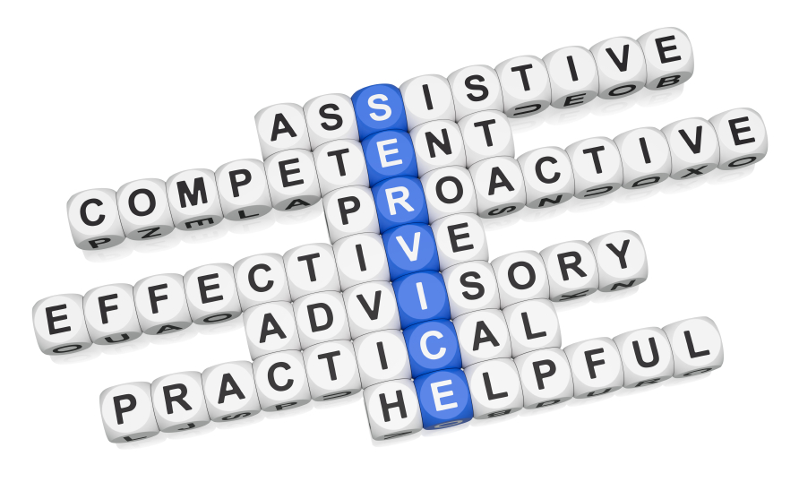 crossword of qualities of service